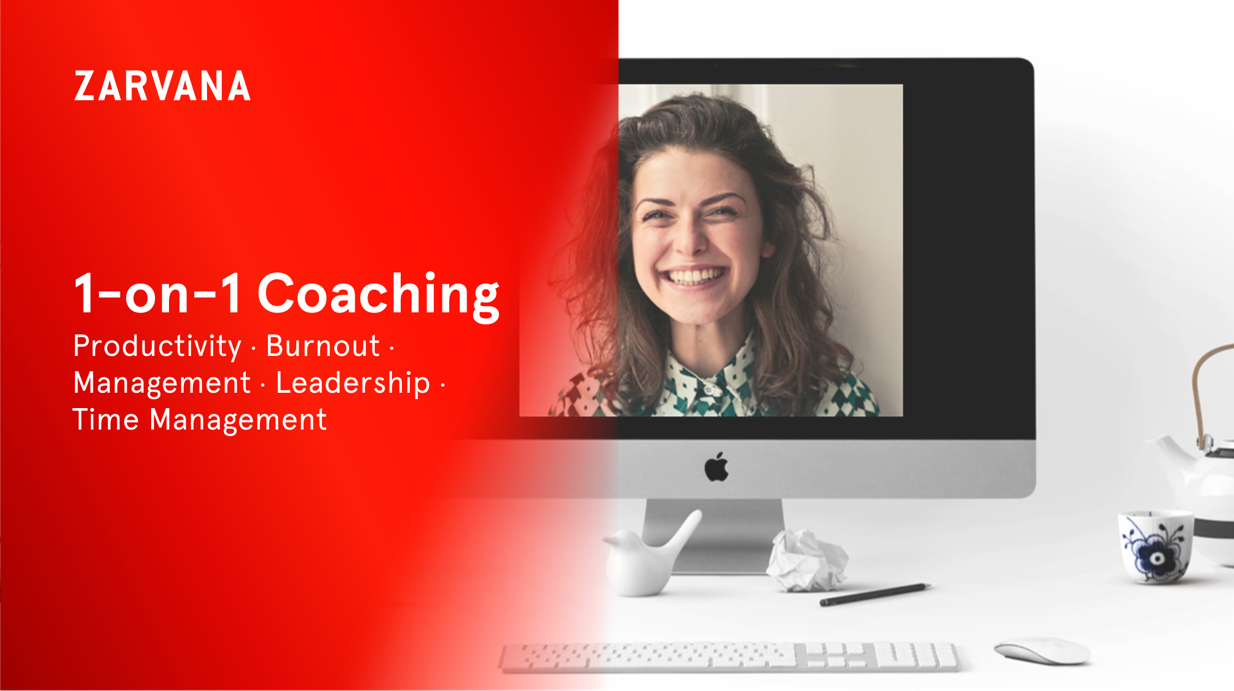 Productivity burnout management coaching