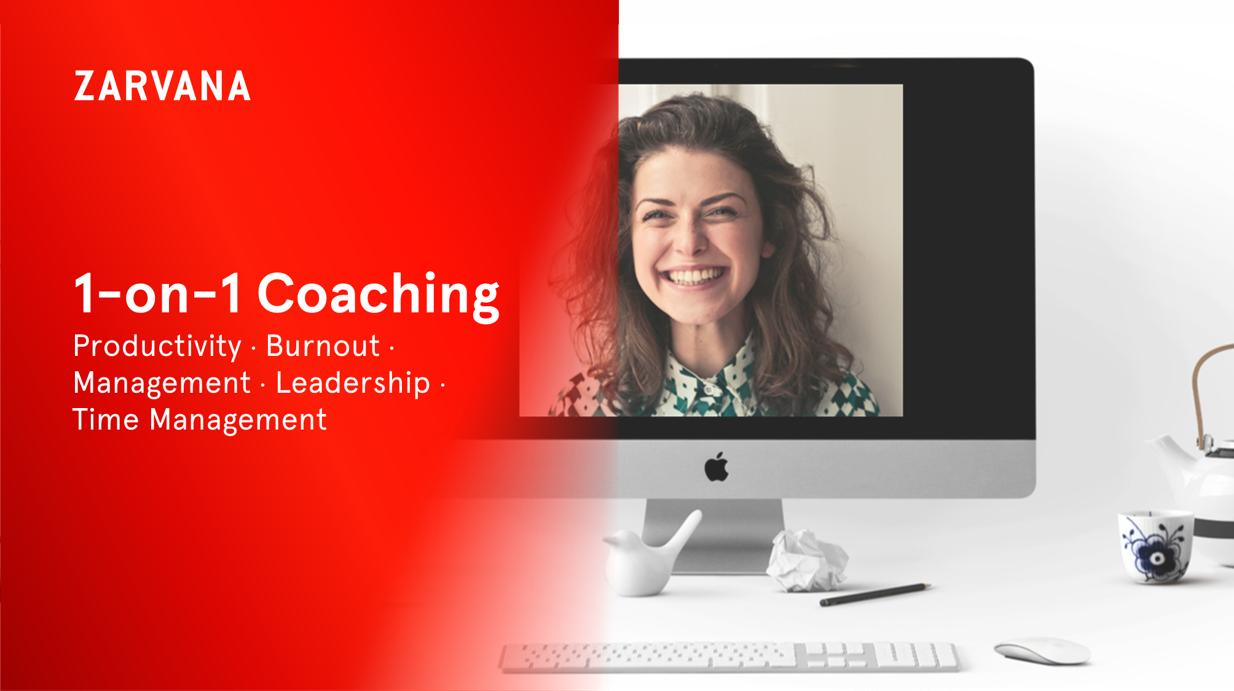 Productivity burnout management coaching