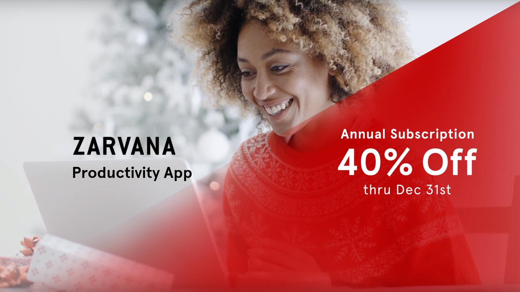 Zarvana Productivity App